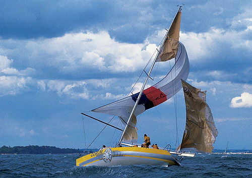 how to avoid broaching a sailboat